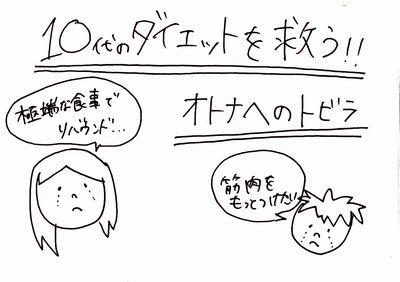 「オトナヘのトビラ」10代のダイエット「リバウンド」「筋トレ」の悩みを解決!