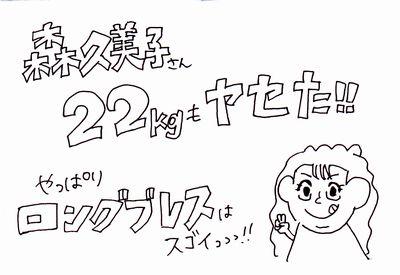 森公美子さんも22kg減!「ロングブレスダイエット」で痩せるコツ