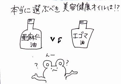話題の美容オイルどっちがいいの?「エゴマ油」と「亜麻仁油」の選び方